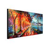 Rainy Autumn Lights - paintingsonline.com.au