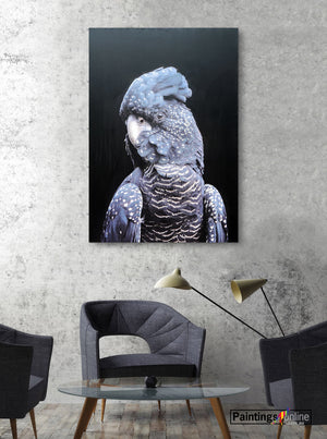 Mr Parrot - paintingsonline.com.au