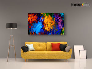 Abstract Feathers Spray - paintingsonline.com.au