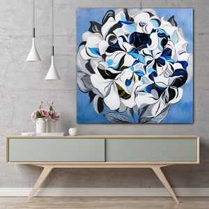 The Dark Peonia - paintingsonline.com.au
