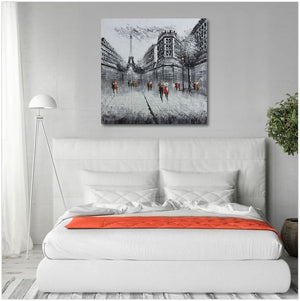 Clouded Gray Eiffel - paintingsonline.com.au