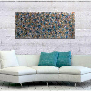 Forget-Me-Not Fields - paintingsonline.com.au