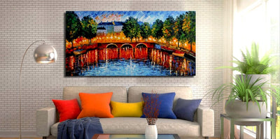 Golden Kiss Bridge - paintingsonline.com.au