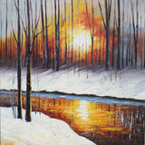 River Snow - paintingsonline.com.au