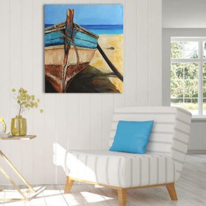 The Blue Boat - paintingsonline.com.au