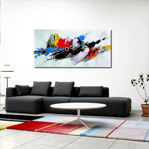 Bike rush Abstarct Art - paintingsonline.com.au