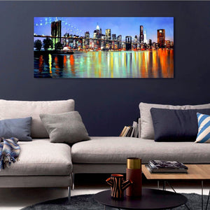 Big Flashy Light Bridge - paintingsonline.com.au