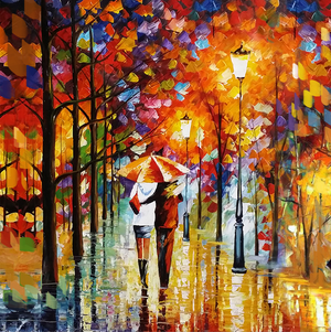 Walk Of 1000 Colors - paintingsonline.com.au