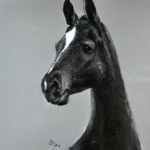 Elegant Horse on Canvas - paintingsonline.com.au