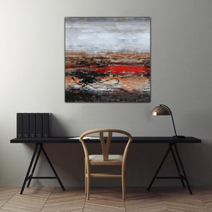 The Chaos Of Thoughts - paintingsonline.com.au