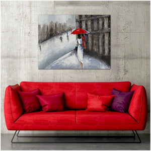 Walk In The Rain - paintingsonline.com.au