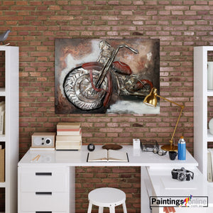 Scurried bicycle - paintingsonline.com.au