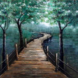 Bridge to Nowhere - paintingsonline.com.au