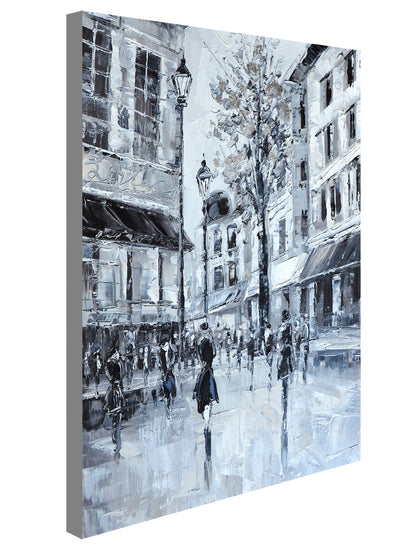 50's Black N White - paintingsonline.com.au