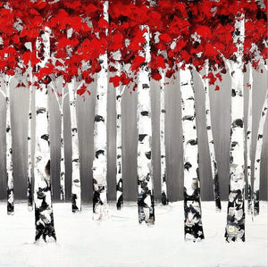 First Winter Steps - paintingsonline.com.au