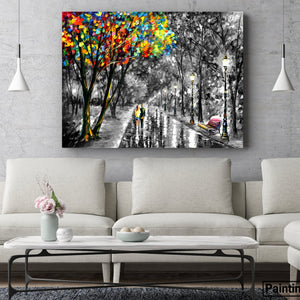 Stroll of fondness - paintingsonline.com.au