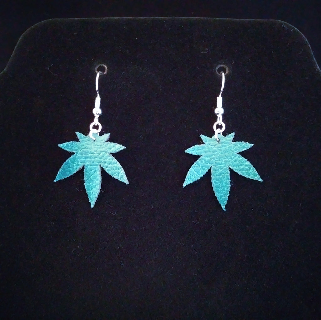 Cannabis Leaf Earrings