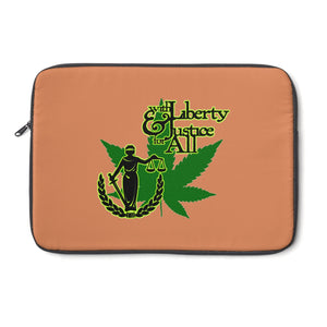 Liberty & Justice Laptop Sleeve, Terra Cotta