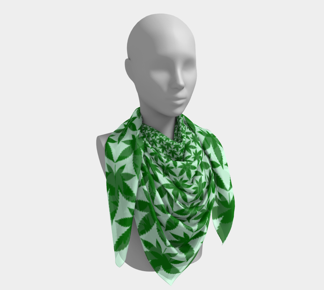 Infinite Leaves Scarf