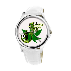 Liberty & Justice Leather Watch