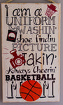 Basketball Mom Wall Art