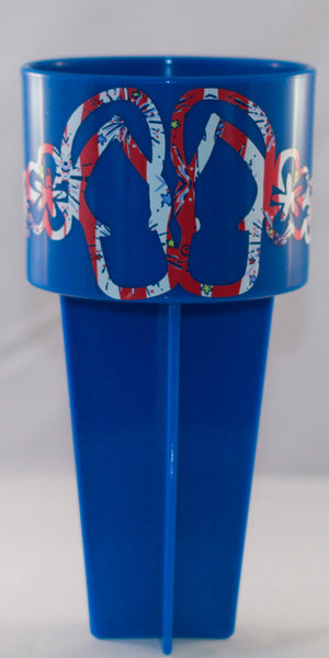 Lilly Inspired Spiker With Flip Flops Decal