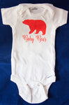Baby Bear New Born body suit