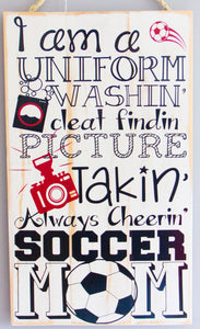 Soccer Mom Wall Art