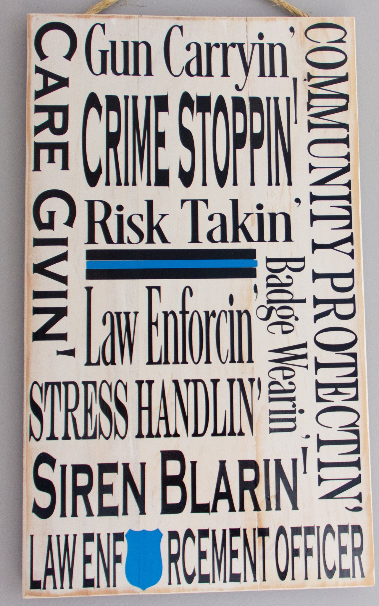 Law Enforcement Officer Wall Art