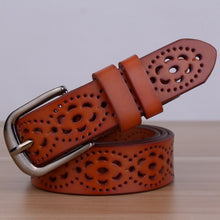 New Arrival Genuine Leather women belt famale cowhide strap leather waistband belts for women luxury lady cintos ceinture