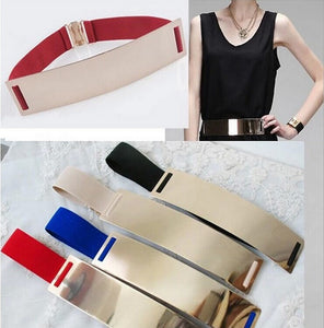 2016 Designer Women Casual Fashion Metal Belt