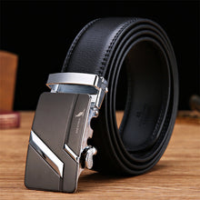 SAN VITALE Designe Mens Belts Cow Split Genuine Leather Luxury Brand Strap for Male 3 Colors Cintos Masculinos Automatic Buckle