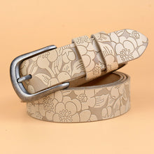 Hot New Vintage Belt Woman Genuine Leather Cow skin strap Fashion pin Buckle Belts For Women Top Quality jeans girdle