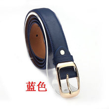 2016 New Womens Paint Leather Alloy Pin Buckle Waist Strap Belts Waistband #02