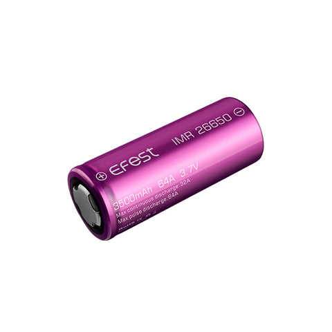 Efest IMR 26650 3500mAh 64A flat top battery