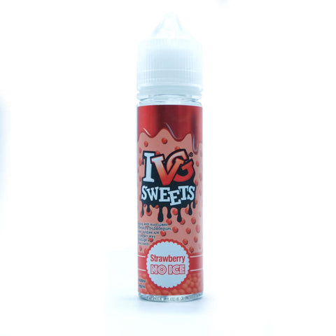 Strawberry Sweets No Ice by IVG E Liquid
