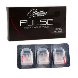 Limitless Pulse Refillable Pods | 2mL 3/Pk