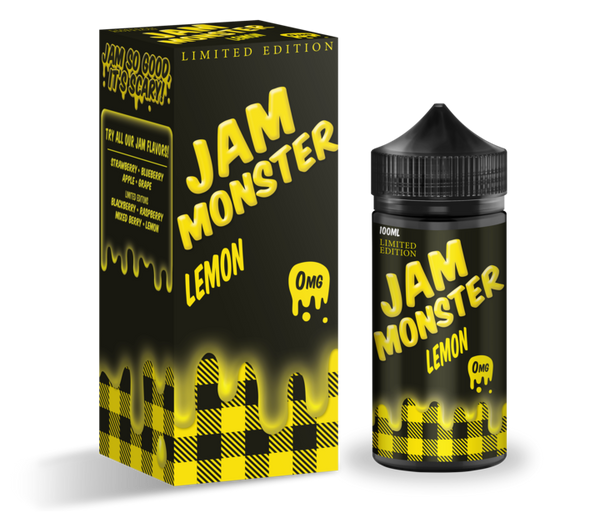 Lemon by Jam Monster E Liquid