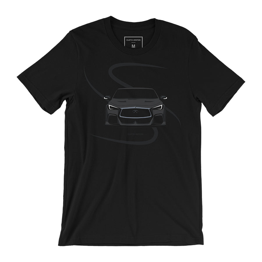 Infiniti Q60 Project Black S - Black T-Shirt