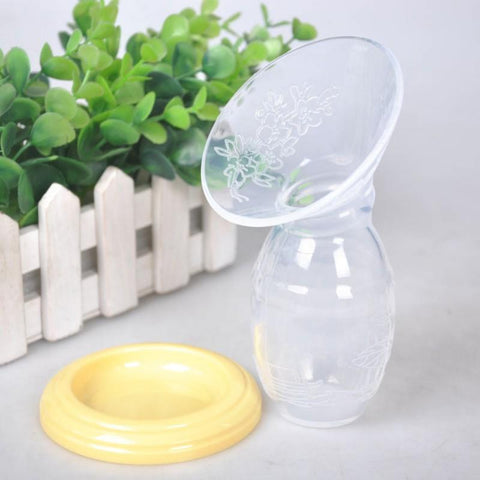 Silicone Breast Pump & Let Down Catcher