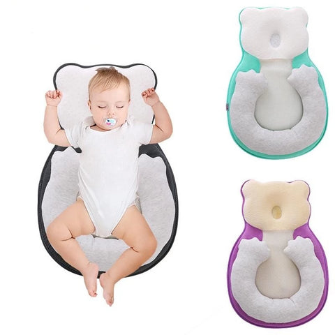 NEW! Deluxe DreamTime™ Portable Baby Crib Nest Lounger with Extra Head Support