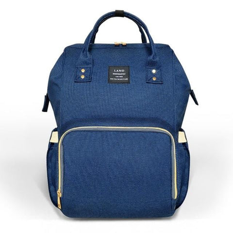 Navy Nappy Bag Backpack