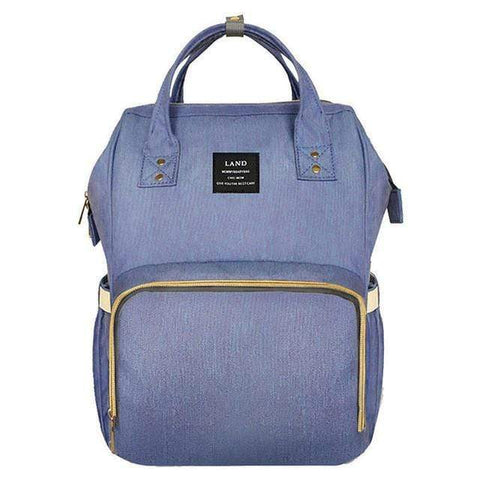 Purple Nappy Bag Backpack