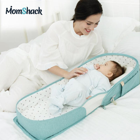 'Sienna' Portable Baby Bed and Diaper Bag