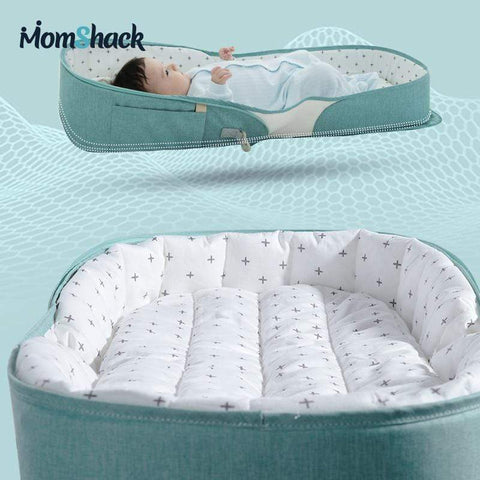 'Sienna' Portable Baby Bed and Nappy Bag
