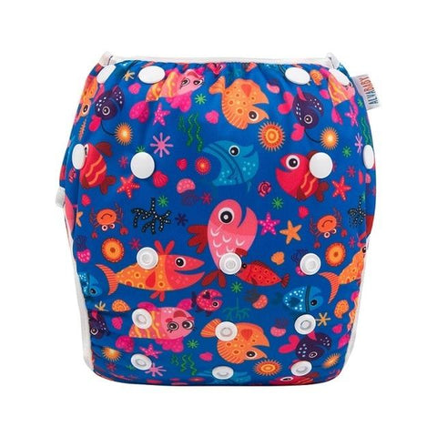 Reusable Modern Cloth Swimming Diaper