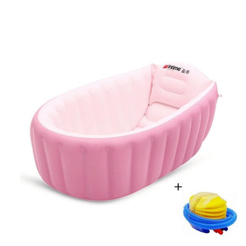 Intime Tubbies™ Portable and Inflatable Bathtub with Free Air Pump