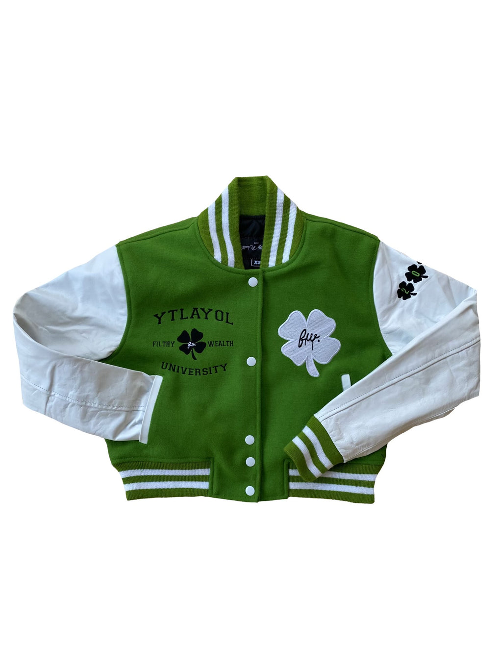 Women 100% Leather Varsity Jacket