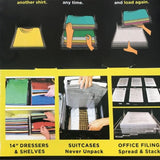 10 Layer Clothing Organizer System
