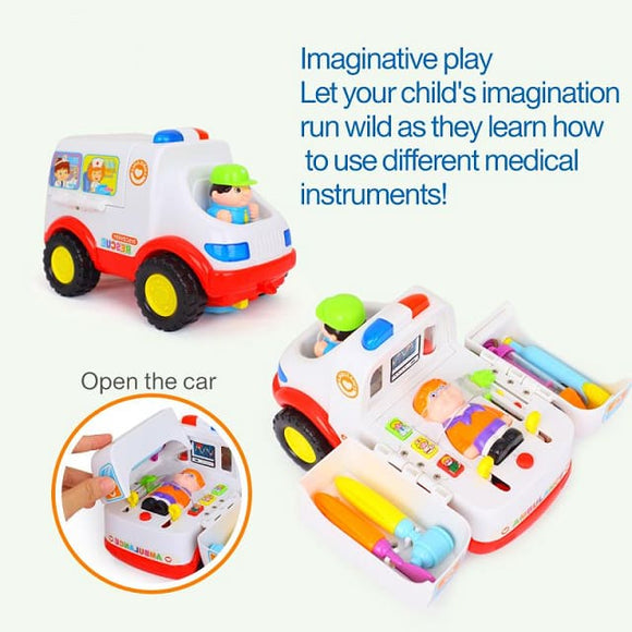 2-in-1 Baby Ambulance Vehicle Toy - China / With Box
